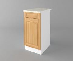 Долен кухненски шкаф с чекмедже и една врата Астра - Натурална 3