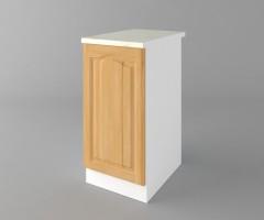 Долен кухненски шкаф с една врата Астра - Натурална 1
