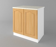 Долен кухненски шкаф с две врати Астра - Натурална 3