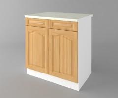Долен кухненски шкаф с две чекмеджета и две врати Астра - Натурална 1