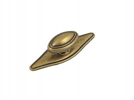 Метална ретро дръжка старо злато 1152 1