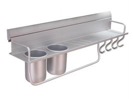 Алуминиев мултифункционален рафт за кухня KA 1