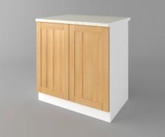 Долен кухненски шкаф с две врати Калатея - Натурална 3