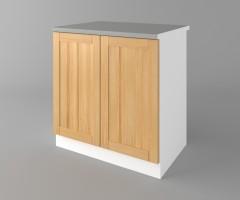 Долен кухненски шкаф с две врати Калатея - Натурална 4