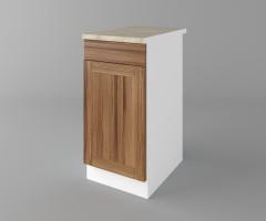 Долен кухненски шкаф с чекмедже и една врата Калатея - Канела 2
