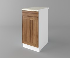 Долен кухненски шкаф с чекмедже и една врата Калатея - Канела 3