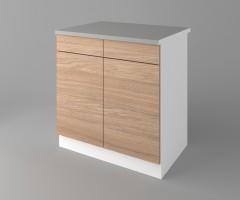Долен кухненски шкаф с две чекмеджета и две врати Поларис 2