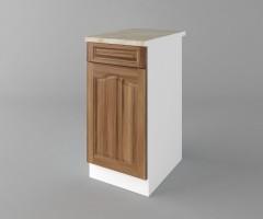 Долен кухненски шкаф с чекмедже и една врата Астра - Канела 1