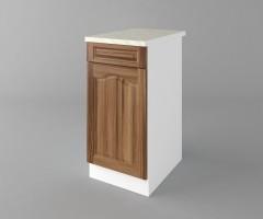 Долен кухненски шкаф с чекмедже и една врата Астра - Канела 2