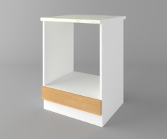 Долен кухненски шкаф за вградена фурна  Калатея - Натурална 1