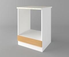 Долен кухненски шкаф за вградена фурна  Калатея - Натурална 3