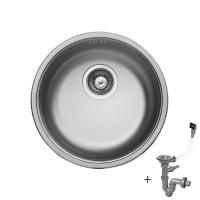 Мивка кръгла LIVINOKS 435х175мм 1