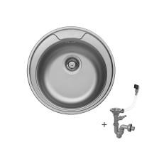 Мивка кръгла LIVINOKS 510х170мм 1
