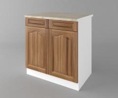 Долен кухненски шкаф с две чекмеджета и две врати Астра - Канела 1
