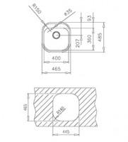 Комплект Tekaway Stylo 1C + MF-2 Project нисък 1