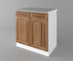 Долен кухненски шкаф с две чекмеджета и две врати Астра - Канела 3