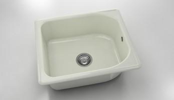 Единична мивка 217- полимермрамор - 43 х 46 см. 1