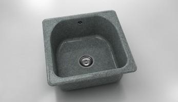 Единична мивка 208- граниксит - 51 х 51 см. 1