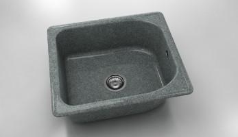 Единична мивка 210- граниксит - 51 х 60 см. 1