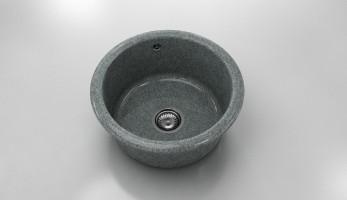 Кръгла мивка 206- граниксит - дълбочина 21 см. 1