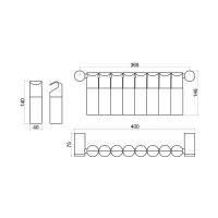 Комплект за стена за подправки 10KT.3191  2