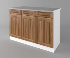 Долен кухненски шкаф с три чекмеджета и три врати Астра - Канела 4