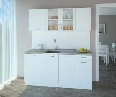 Кухненски комплект Нарцис Мат Стъкло - L 170 cm 1