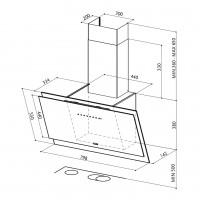 Вертикален аспиратор   BLACK TIE FABER 2