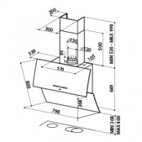 Вертикален аспиратор MIRROR BRS FABER 1