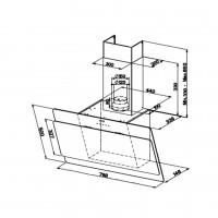 Вертикален апиратор COCKTAIL EV8 A80 FABER 2