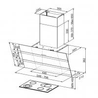 Вертикален аспиратор STEELMAX EV8 FABER 2