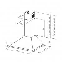 Декоративен аспиратор  VALUE A60 PB X 2