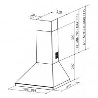 Декоративен аспиратор STRIP SMART A90 FABER 2