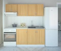 Кухненски комплект Калатея Натурална - L 130 cm 2