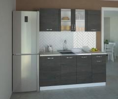 Кухненски комплект Вега Стъкло - L 170 cm 2