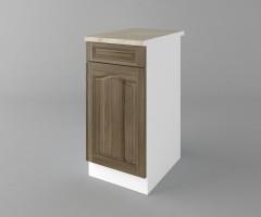 Долен кухненски шкаф с чекмедже и една врата Астра - Ким 1