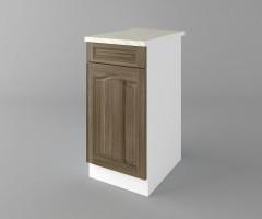 Долен кухненски шкаф с чекмедже и една врата Астра - Ким 2
