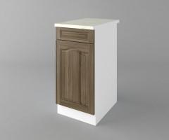 Долен кухненски шкаф с чекмедже и една врата Астра - Ким 3