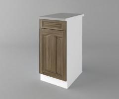 Долен кухненски шкаф с чекмедже и една врата Астра - Ким 4