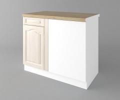 Долен кухненски шкаф за ъгъл Астра - Крем 2