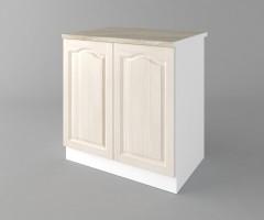 Долен кухненски шкаф с две врати Астра - Крем 1