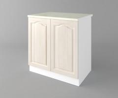 Долен кухненски шкаф с две врати Астра - Крем 2