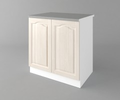 Долен кухненски шкаф с две врати Астра - Крем 3