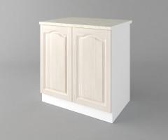Долен кухненски шкаф с две врати Астра - Крем 4