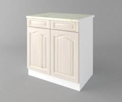 Долен кухненски шкаф с две чекмеджета и две врати  Астра - Крем 2