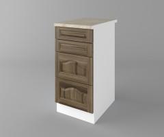 Долен кухненски шкаф с четири чекмеджета Астра - Ким 1