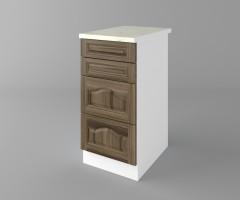 Долен кухненски шкаф с четири чекмеджета Астра - Ким 2