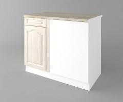 Долен кухненски шкаф за ъгъл Астра - Крем 1