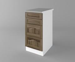 Долен кухненски шкаф с четири чекмеджета Астра - Ким 3