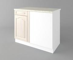 Долен кухненски шкаф за ъгъл Астра - Крем 4